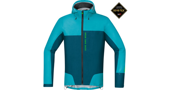 GORE BIKE WEAR Power Trail GT AS Jas Heren turquoise/petrol